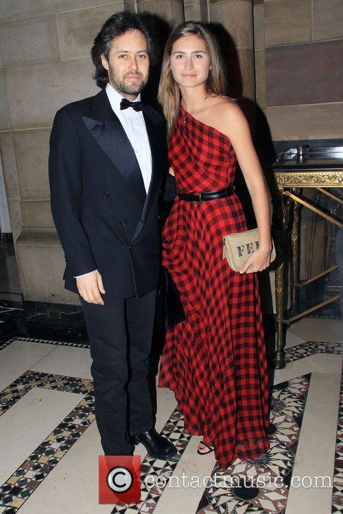 David Lauren and Lauren Bush 2008 UNICEF Snowflake...