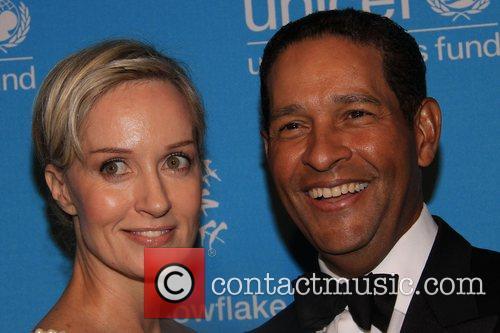 Hillary Gumbel & Bryant Gumbel 2008 UNICEF Snowflake...