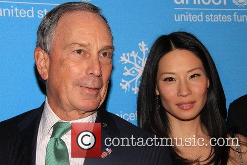 Michael Bloomberg and Lucy Liu  2008 UNICEF...