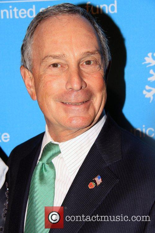Michael Bloomberg 2008 UNICEF Snowflake Ball New York...