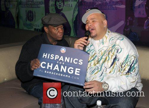 Obama United For Change celebration held at at...