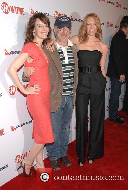 Rosemarie Dewitt and Steven Spielberg 4
