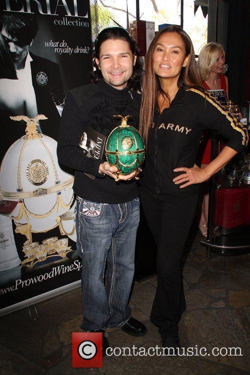 Corey Feldman and Tia Carrere 2