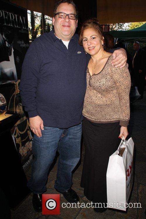 Jeff Garlin, Kathy Najimy The 2009 Valentine/Oscar Celebrity...