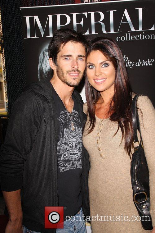 Nadia Bjorlin and boyfriend Brandon Beemer The 2009...