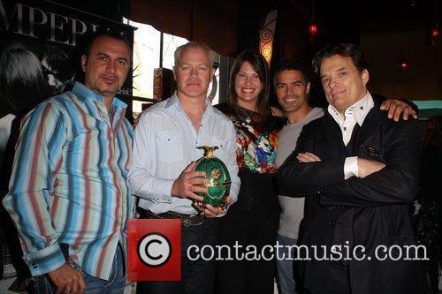 Neal McDonough, wife Ruve Robertson, Esai Morales, Damian...