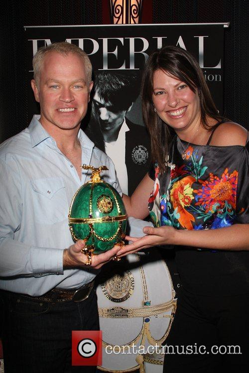 Neal McDonough, wife Ruve Robertson The 2009 Valentine/Oscar...