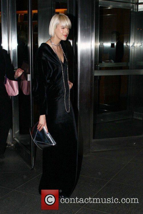 Agyness Deyn The New York Premiere of 'Valentino:...