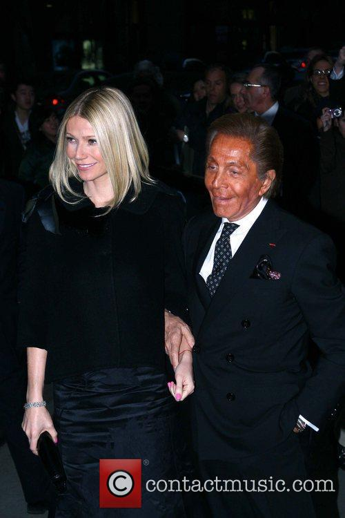 Gwyneth Paltrow and Valentino Garavani The New York...