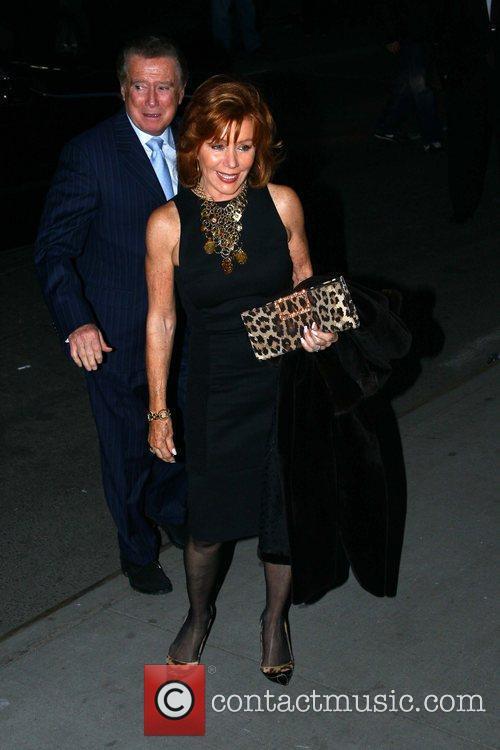 Joy Philbin and Regis Philbin The New York...