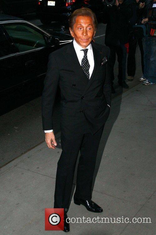 Valentino Garavani The New York Premiere of 'Valentino:...