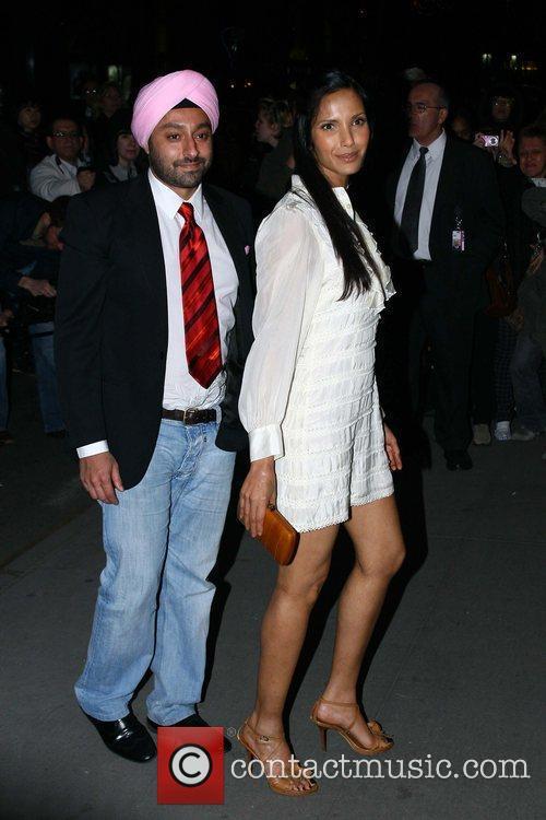 Vikram Chatwell and Padma Lakshmi 6