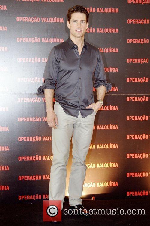 Tom Cruise attends a photocall for 'Valkiria' aka...
