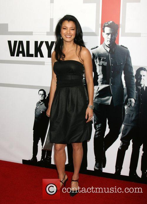 Kelly Hu  Los Angeles Premiere of 'Valkyrie'...