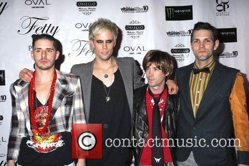 Cole Whittle, Justin Tranter, Stevy Pyne and Dan...