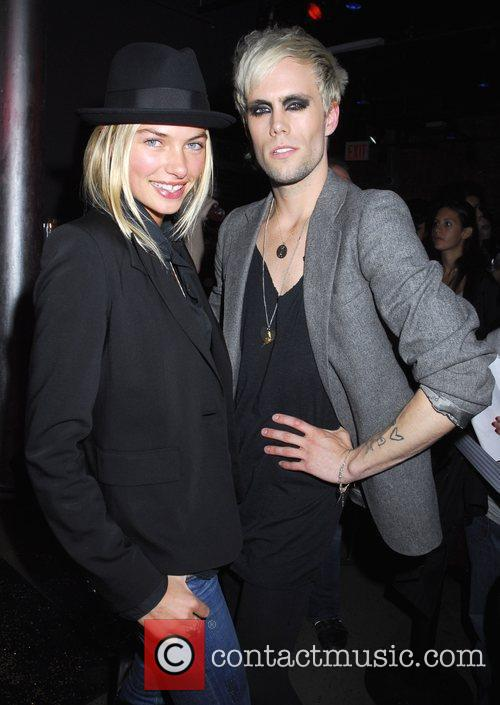 Jessica Hart and Justin Tranter Vamp by Fetty...