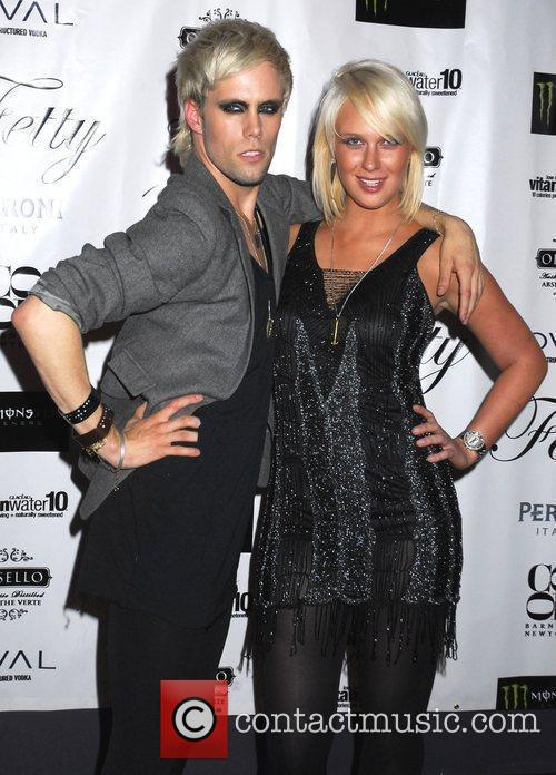 Justin Tranter and CariDee English Vamp by Fetty...