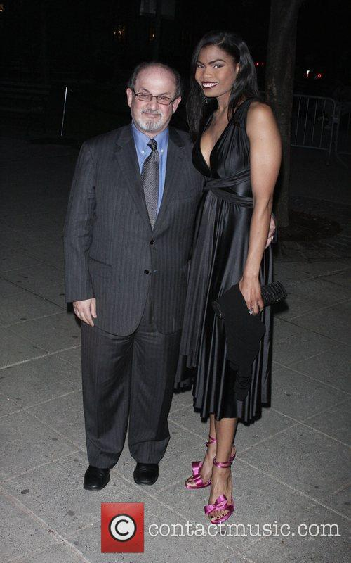 Salman Rushdie and Pia Glenn 2