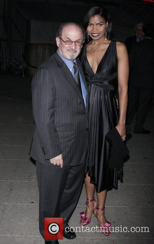 Salman Rushdie and Pia Glenn 1