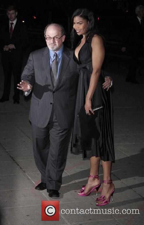Salman Rushdie and Pia Glenn 3