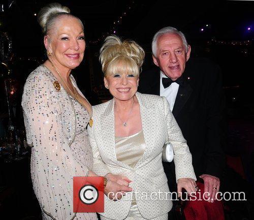 Barbara Windsor, Marsha Ratcliff and John Ratcliff...