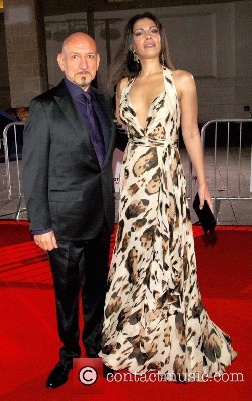 Ben Kingsley and Daniela Barbosa de Carneiro The...