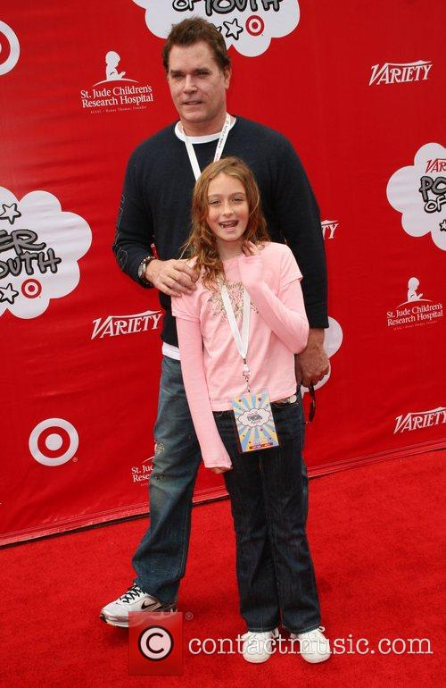 Ray Liotta and his Daughter Target Presents Variety's...