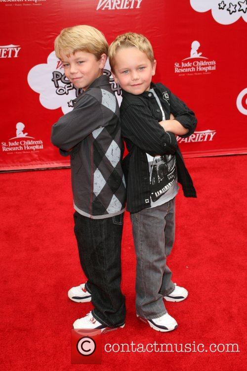 Brandon and Mason Target Presents Variety's Power Of...