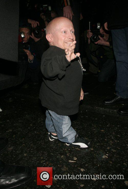 Verne Troyer at the Neon Management Launch at...