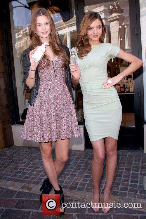 Miranda Kerr and Behati Prinsloo Victoria's Secret Model...