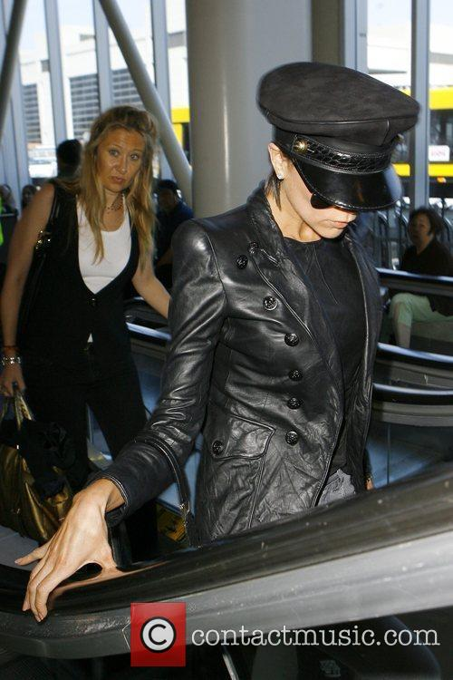 Victoria Beckham at LAX airport