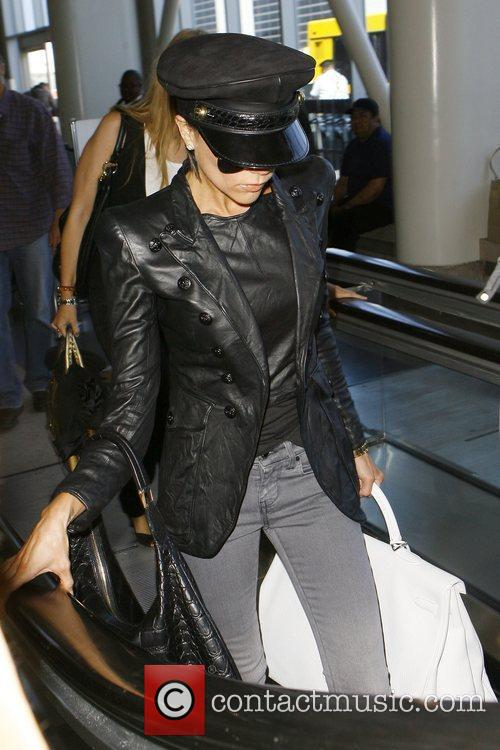 Victoria Beckham at LAX airport Los Angeles, California