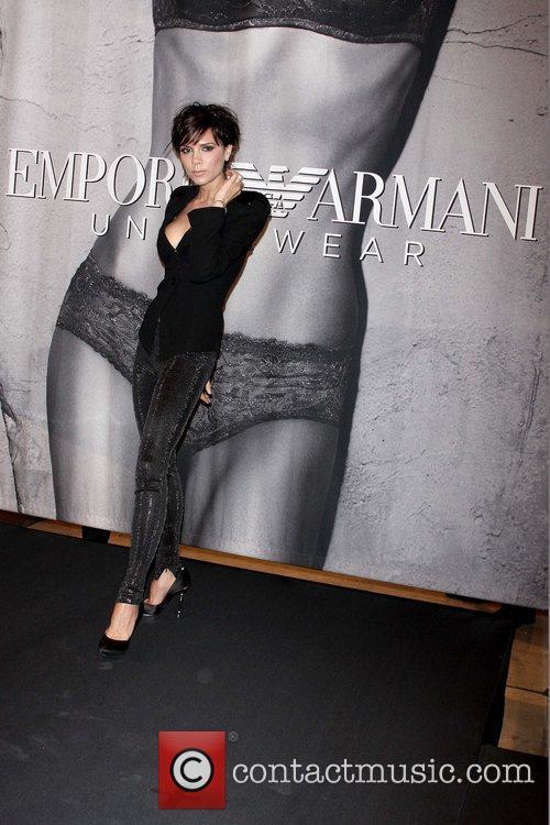 Reveals her new Emporio Armani Women's Underwear advertising...