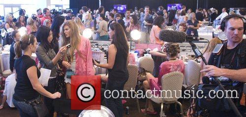 Atmosphere Victoria Secret Fashion Show Backstage Hair and...