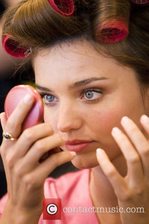Victoria Secret Fashion Show Backstage Hair and Makeup...