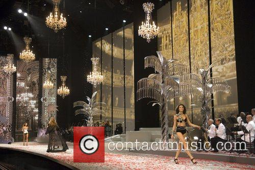 Atmosphere at the 2008 Victoria's Secret Fashion Show...