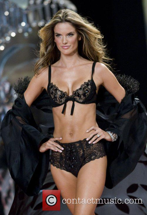 ... the runaway at the 2008 Victoria's Secret Fashion Show at the