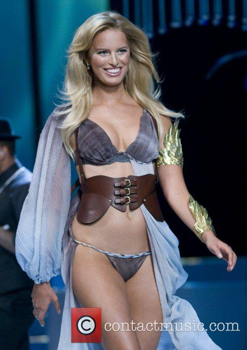 Victoria's Secret Angel Karolina Kurkova walks the runaway...