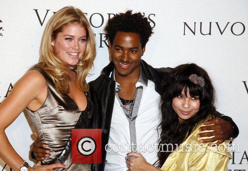 Doutzen Kroes, DJ Ruckus and Zoe Kravitz Victoria's...