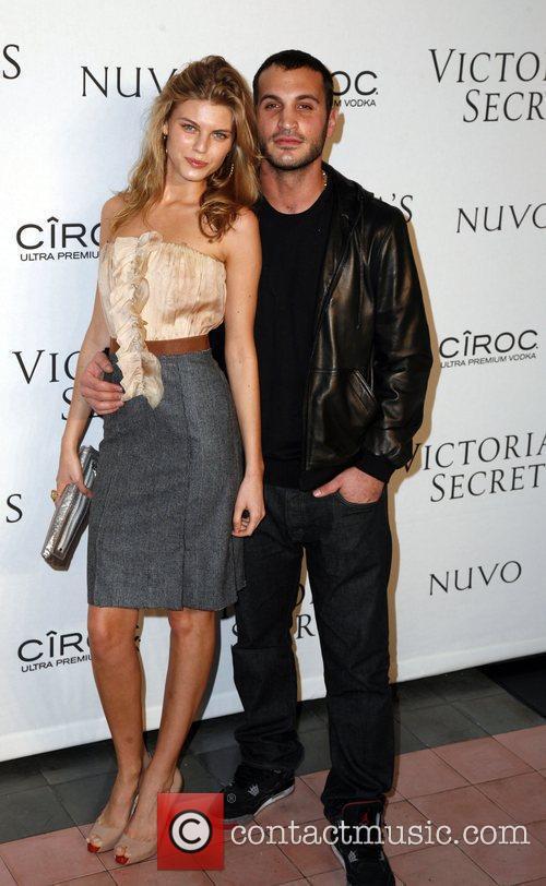 Maryna Linchuk and Salvatore Morale  Victoria's Secrets...