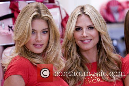 Doutzen Kroes and Heidi Klum Victoria's Secret Angels...