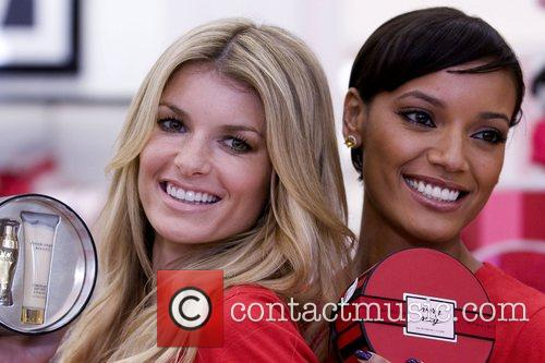 Marisa Miller and Selita Ebanks Victoria's Secret Angels...