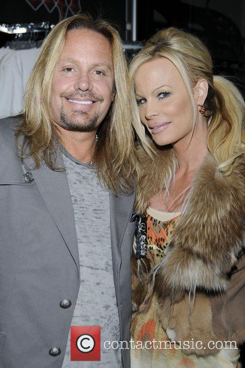 Vince Neil of Motley Crue meets fans and...