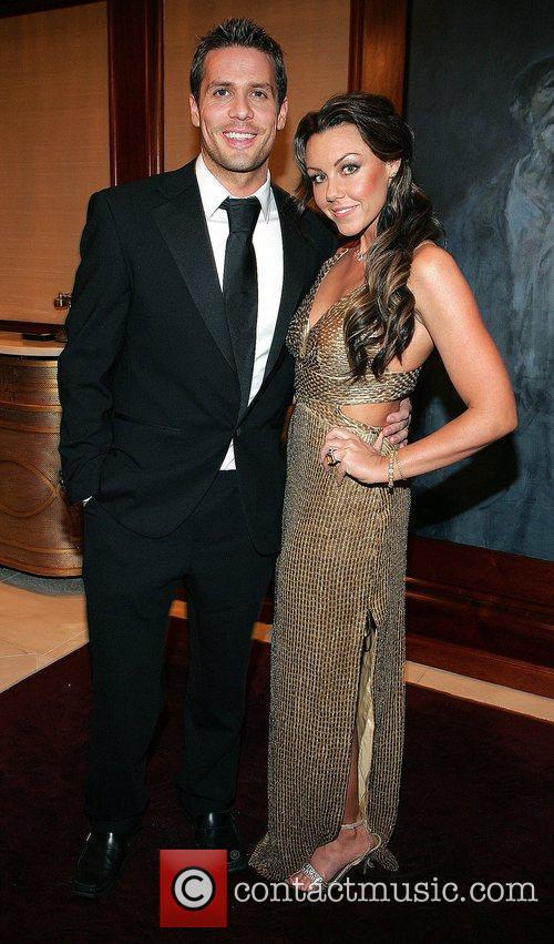 Michelle Heaton and boyfriend Hugh Hanley The VIP...