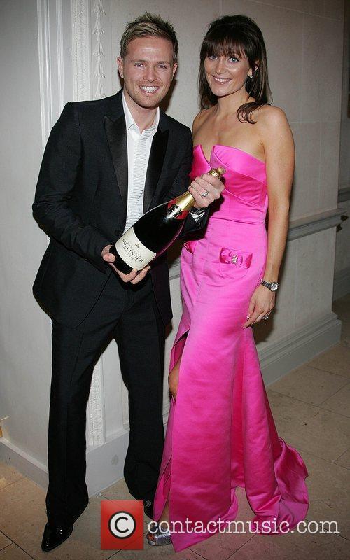Nicky Byrne with wife Georgina The VIP Style...