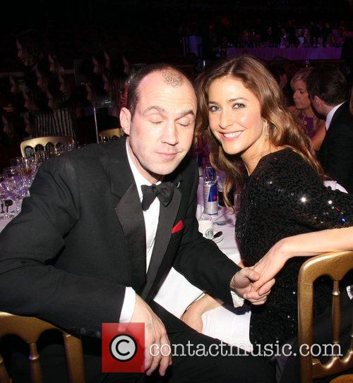 Johnny Vaughan and Lisa Snowden Sir Michael Caine...