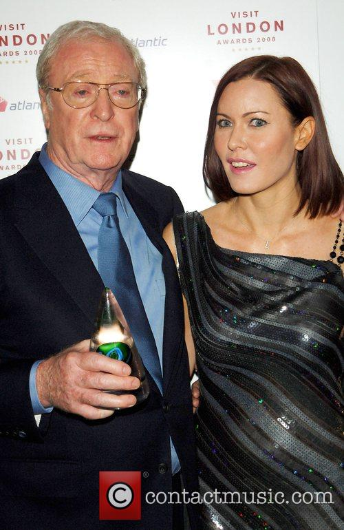 Sir Michael Caine and Lynsey Stoppard Sir Michael...