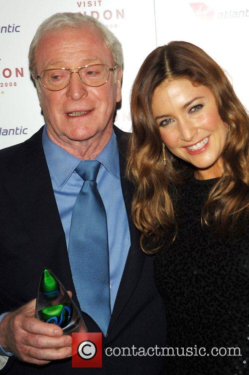 Sir Michael Caine and Lisa Snowden Sir Michael...