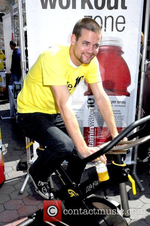 Low calorie 'Vitaminwater10' launch at the Vitaminwater10 Gym...