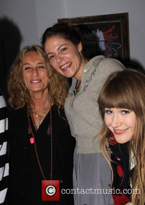 Ann Dexter-Jones and Loloa Schnabel Vito Schnabel and...
